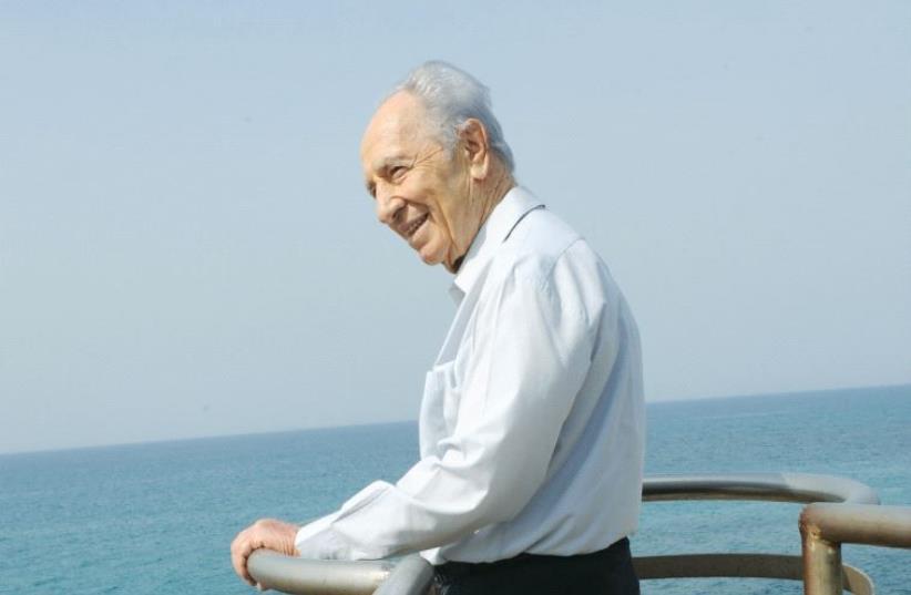 Shimon Peres (photo credit: MARK NEYMAN / GPO)
