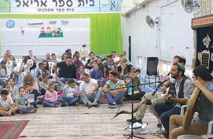 THE MEITARIM branch in Gilo, Jerusalem, hosts a 'slihot' event last month. (photo credit: Courtesy)