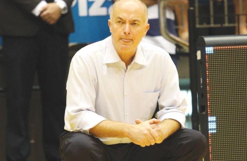 Maccabi Tel Aviv sacked coach Erez Edelstein  (photo credit: ADI AVISHAI)