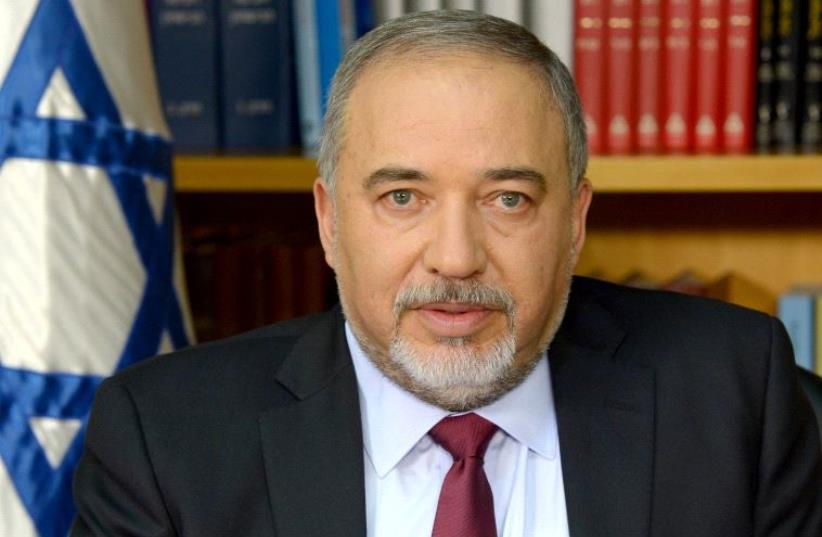 Avigdor Liberman.  (photo credit: GOVERNMENT PRESS OFFICE)