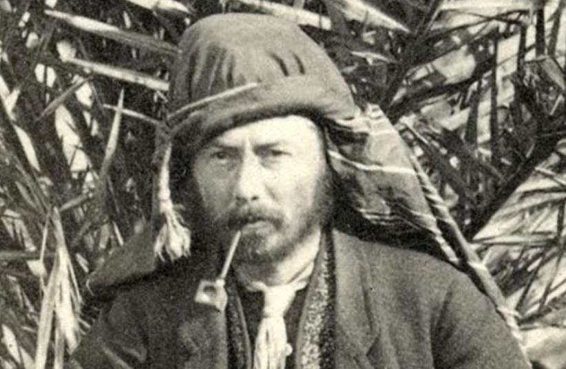 Wilson in the Sinai in 1869. (photo credit: PEF)