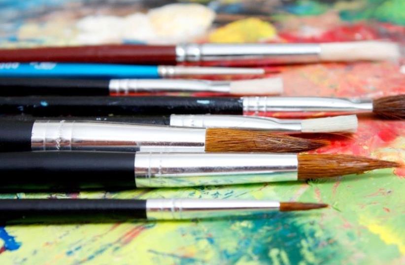 Paintbrushes (Illustrative) (photo credit: INGIMAGE)