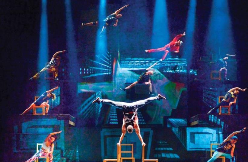 Cirque Eloize (photo credit: YOSSI ZWECKER)