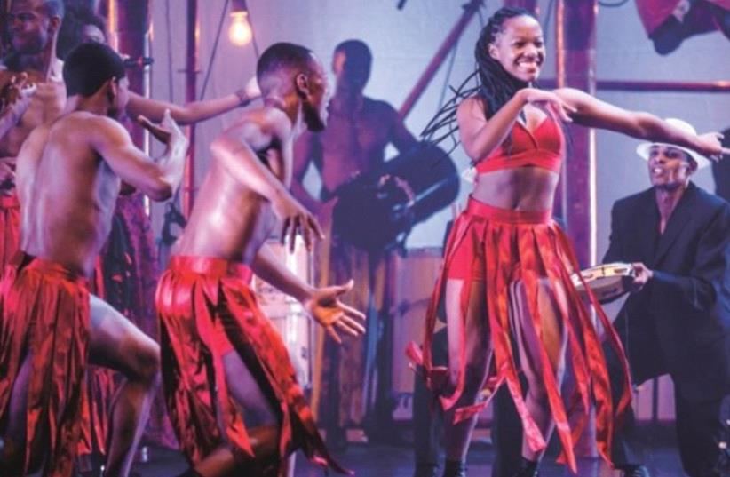 The Bal'e de Rua dance company (photo credit: DANIEL BOUD)