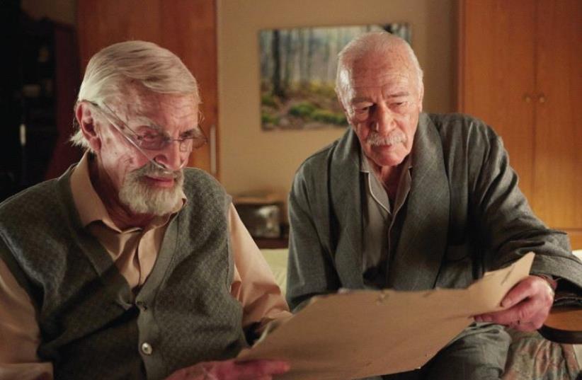 MARTIN LANDAU (left) and Christopher Plummer in 'Remember.' (photo credit: COLLIDER)