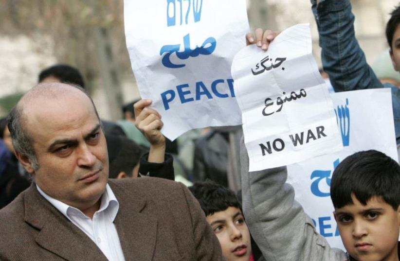 Siamak Morsadegh (photo credit: BEHROUZ MEHRI / AFP)