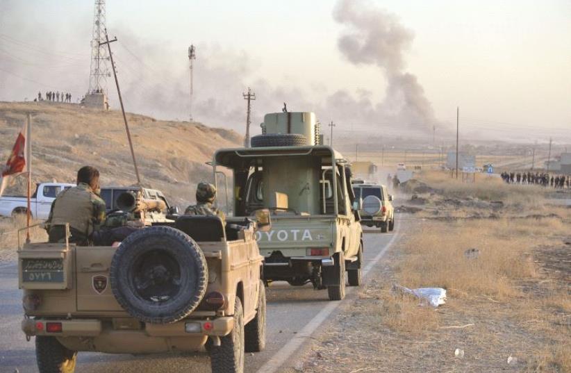 Sur la route de Mossoul (photo credit: SETH J. FRANTZMAN)
