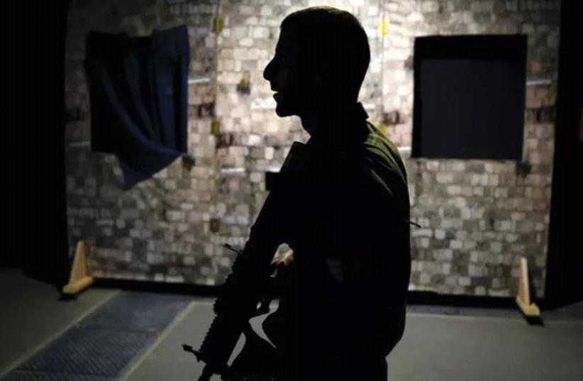 An IDF soldier (illustrative) (photo credit: REUTERS)