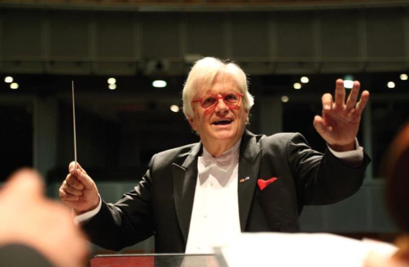 GERMAN PIANIST and conductor Justus Frantz. (photo credit: DIEGO MITELBERG)