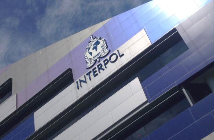 Interpol (photo credit: REUTERS)
