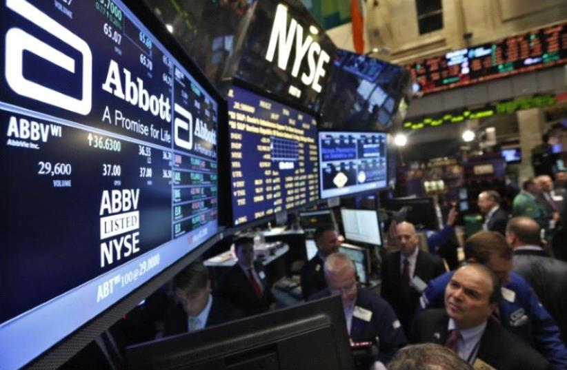 New York Stock Exchange (photo credit: REUTERS)