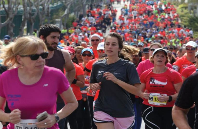 The Jerusalem Marathon (photo credit: MARC ISRAEL SELLEM)