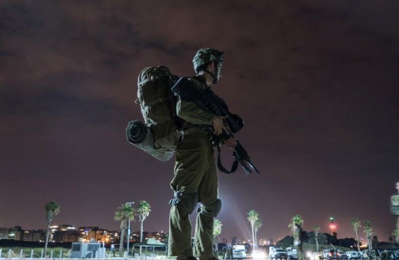 An IDF soldier. (photo credit: IDF SPOKESPERSON'S UNIT)