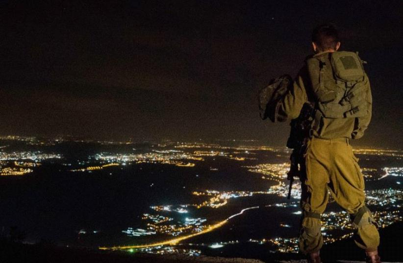 An IDF soldier. (photo credit: IDF SPOKESMAN'S OFFICE)