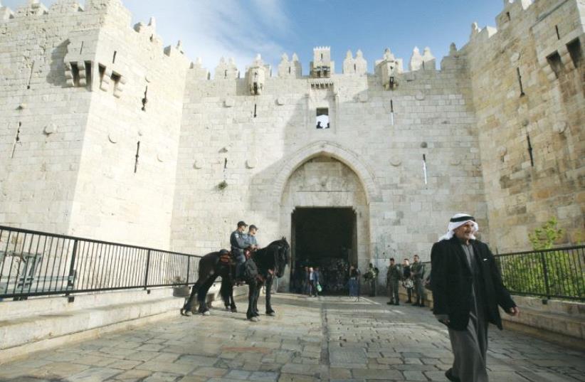 Damascus gate, Jerusalem (photo credit: MARC ISRAEL SELLEM)