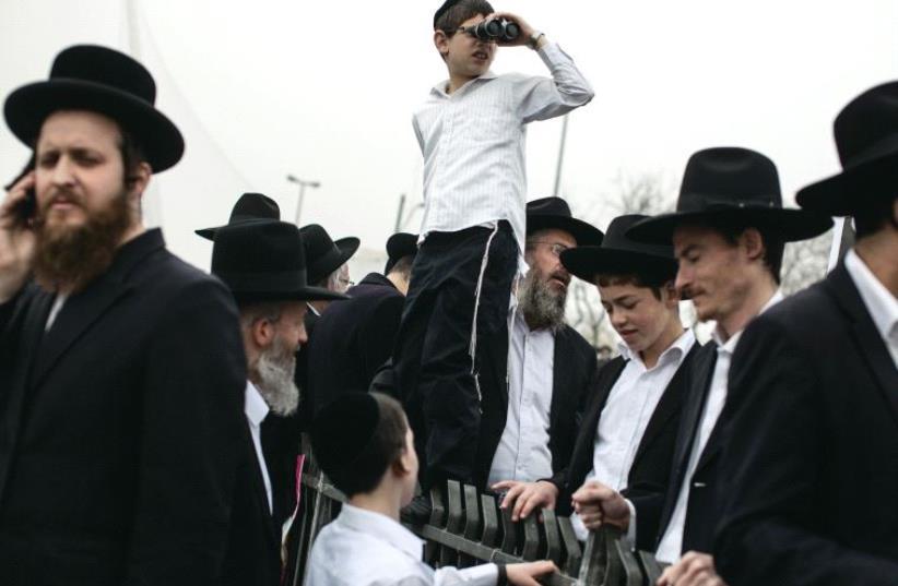 Orthodox Jews (photo credit: REUTERS)