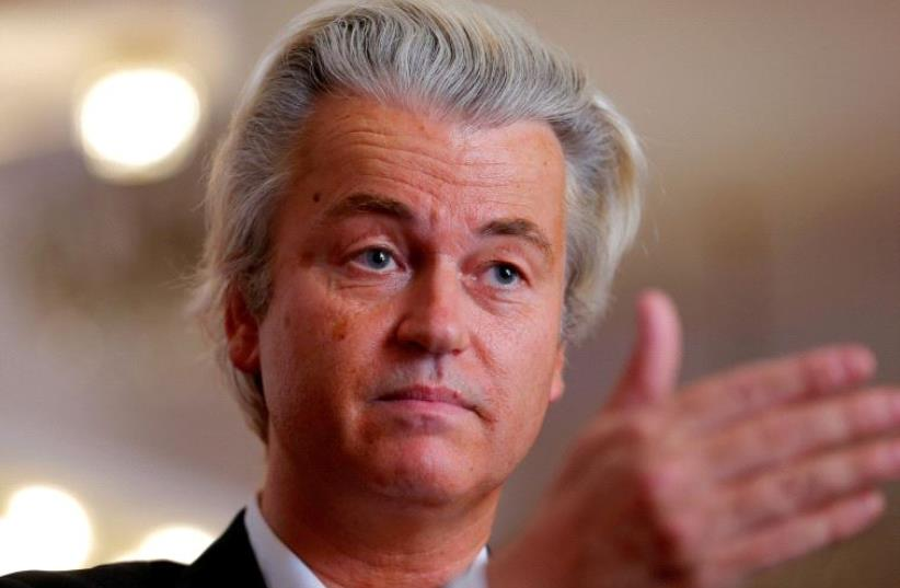 Geert Wilders (photo credit: REUTERS)