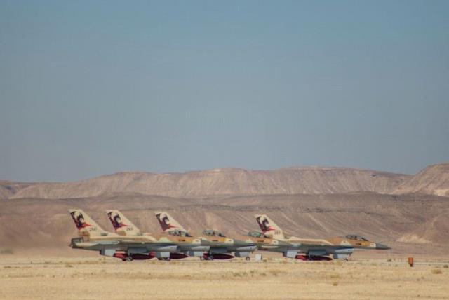 After 36 years, IAF retires last F-16 Netz fighter jets - The Jerusalem Post