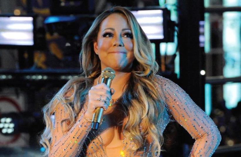 Mariah Carey (photo credit: REUTERS)