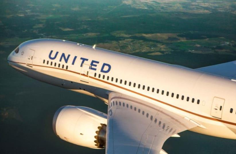 A United Airlines Boeing 787 Dreamliner (photo credit: PR)