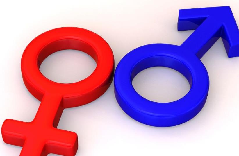 Male and Female gender symbols (photo credit: INGIMAGE)