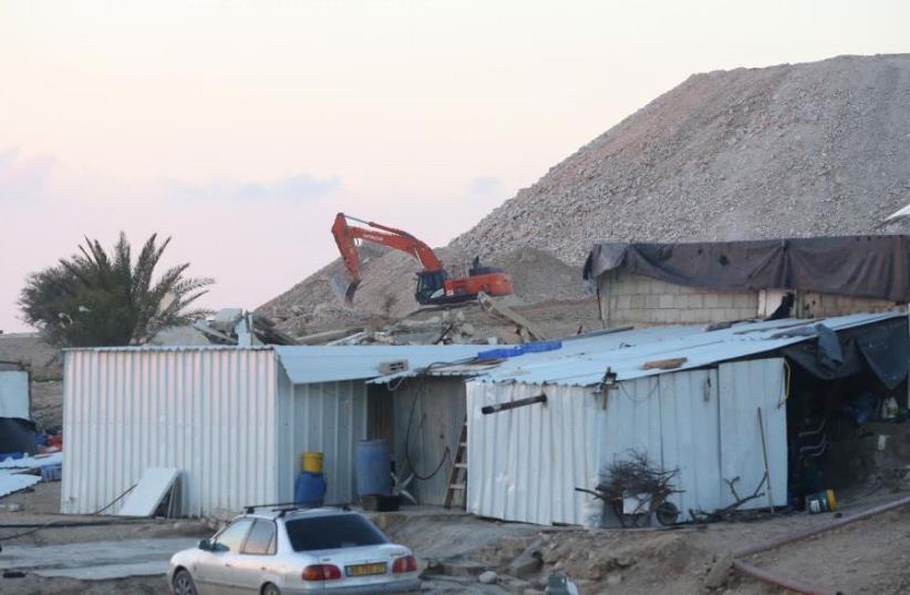 Umm al-Hiran (photo credit: MARC ISRAEL SELLEM/THE JERUSALEM POST)