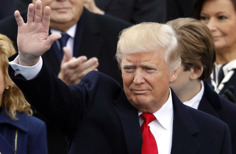The 45th president of the United States, Donald J. Trump. (photo credit: REUTERS)