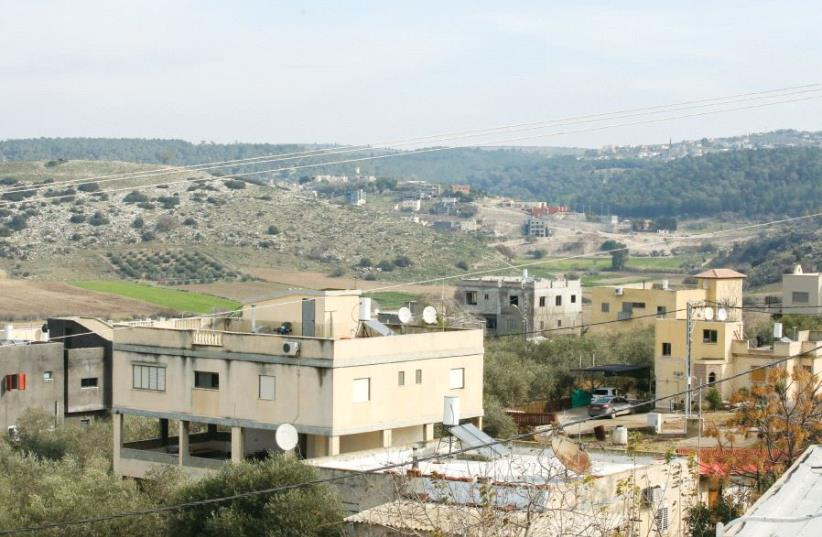 The Beduin village of Khawaled in the North (photo credit: MARC ISRAEL SELLEM)