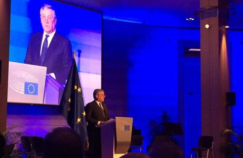 Antonio Tajani (photo credit: TAMARA ZIEVE)