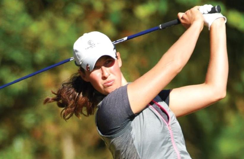 ISRAEL'S TOP-RANKED golfer Laetitia Beck got 2017 off to a great start with a career-high eighth-place finish over the weekend at the LPGA tournament in the Bahamas (photo credit: SCOTT A. MILLER)