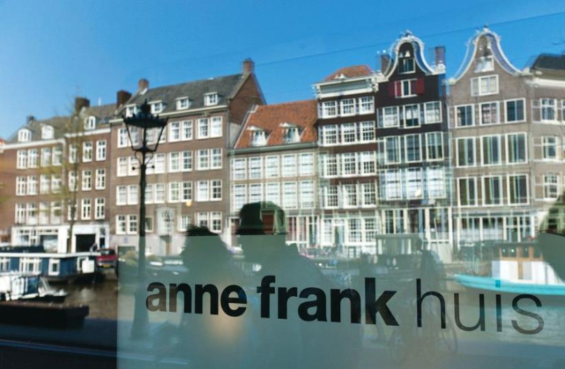 Anne Frank House (photo credit: MICHAEL KOOREN / REUTERS)