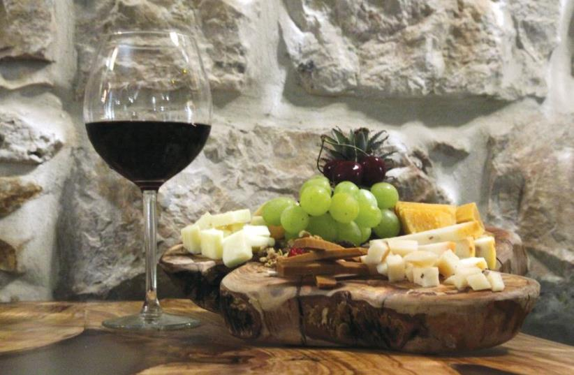 Wine and cheese (photo credit: MARC ISRAEL SELLEM)