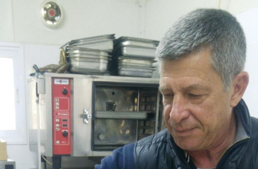 Hanoch Ben-Yehuda, a retired police officer, was among the first volunteers (photo credit: Courtesy)
