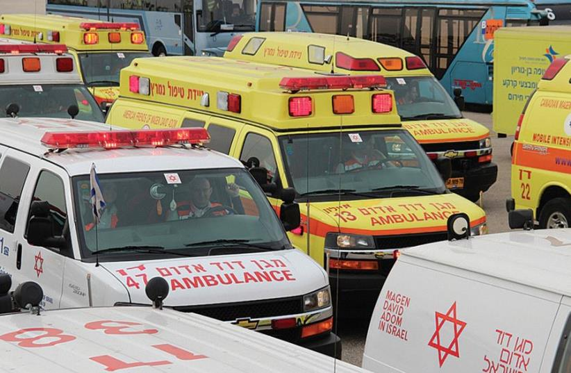 Magen David Adom ambulances (photo credit: MAGEN DAVID ADOM)