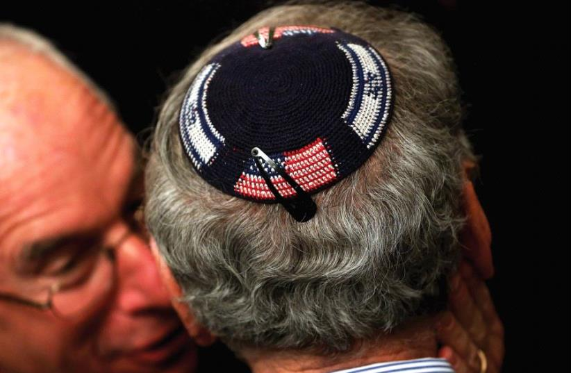 CONTENTIOUS TIMES in America are bringing out antisemitism. (photo credit: REUTERS)