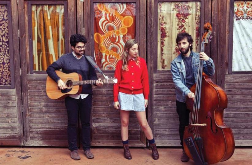 Israeli folk rock band Jane Bordeaux (photo credit: PR)