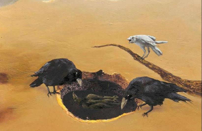 Carmela Weiss's exhibition 'White Raven' (photo credit: PR)