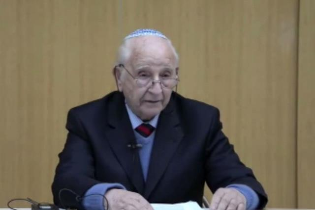 Chaim Ferster (photo credit: screenshot)