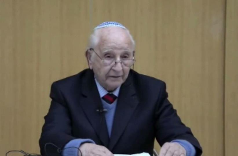 Chaim Ferster (photo credit: screenshot)