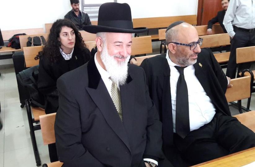 Former chief rabbi Yona Metzger (photo credit: YONAH JEREMY BOB)