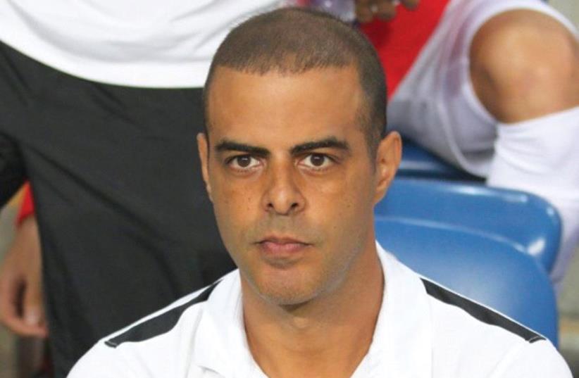 Guy Luzon was named as the new head coach of Maccabi Haifa last night, replacing Rene Meulensteen following his disappointing tenure. (photo credit: AVI AVISHAI)