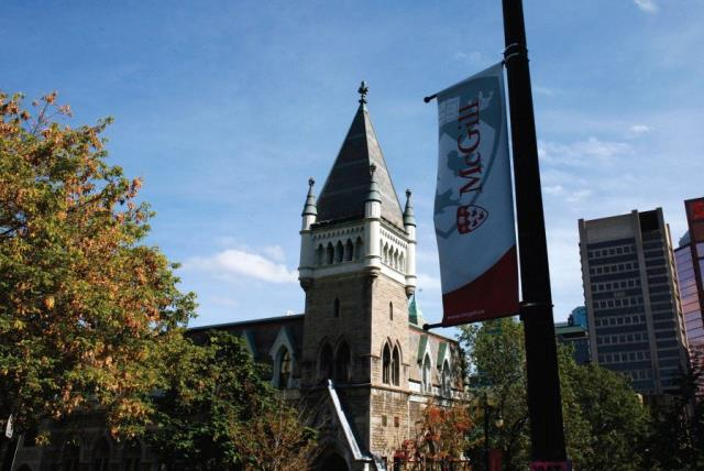 MCGILL UNIVERSITY campus in Montreal (photo credit: REUTERS)