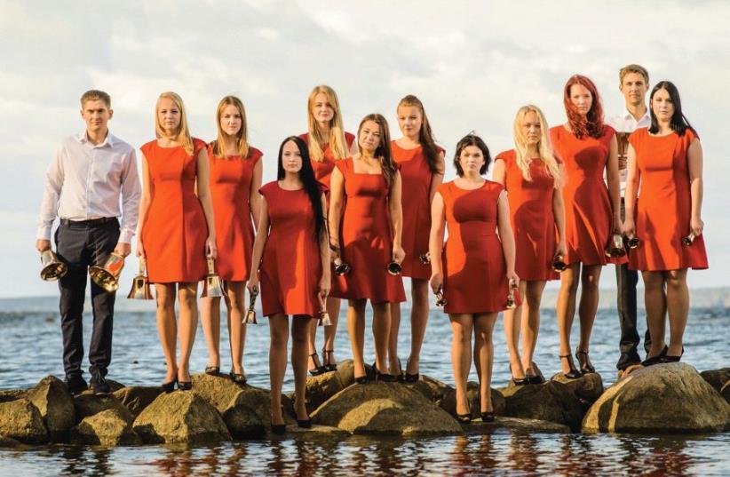 The Estonian handbell ensemble Arsis (photo credit: BELL ARSIS)