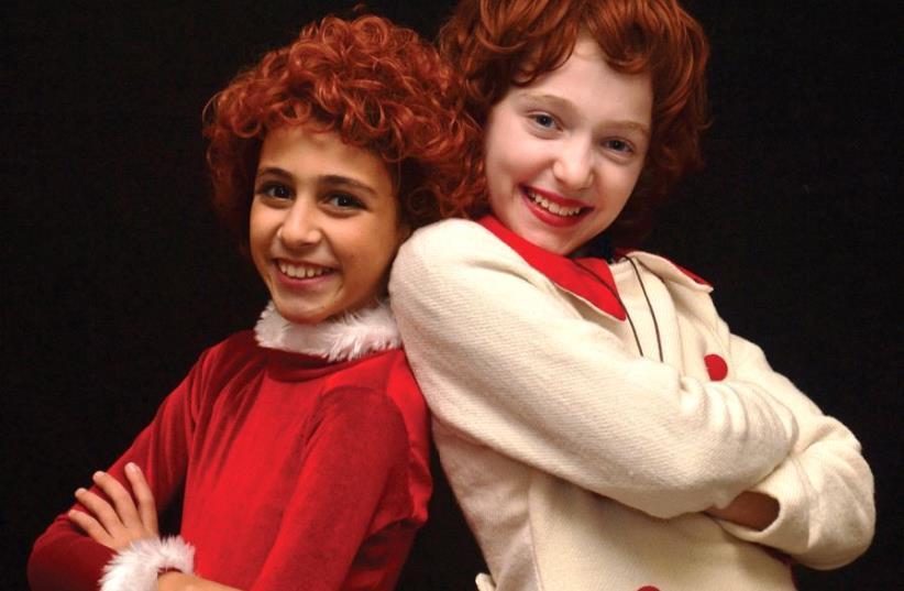 LOGON presents the musical 'Annie' nationwide (photo credit: PR)