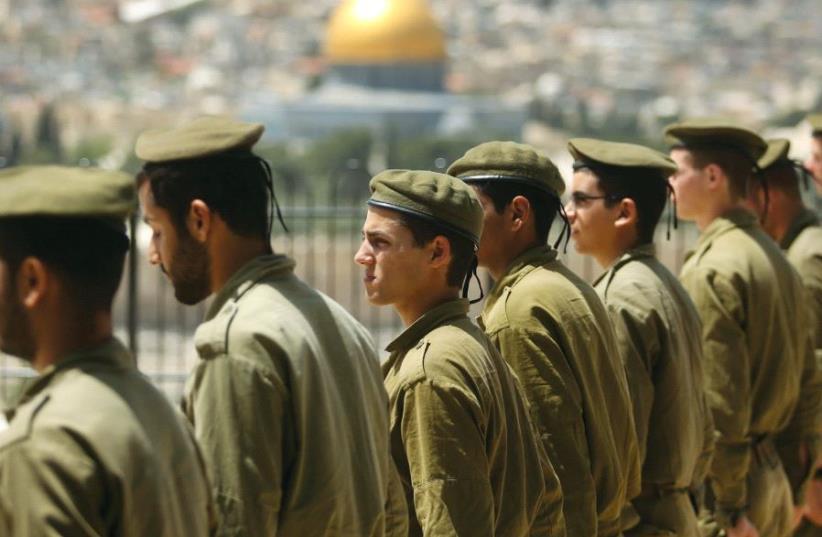 IDF soldiers (photo credit: MARC ISRAEL SELLEM)