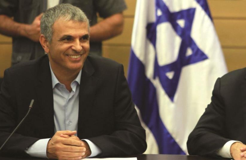 Le premier Ministre avec Moshé Kahlon (photo credit: DR)