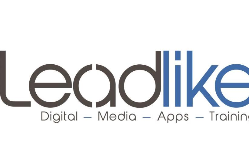 """Le logo de Leadlike, une entreprise créée par un """"olé"""" français (photo credit: DR)"""