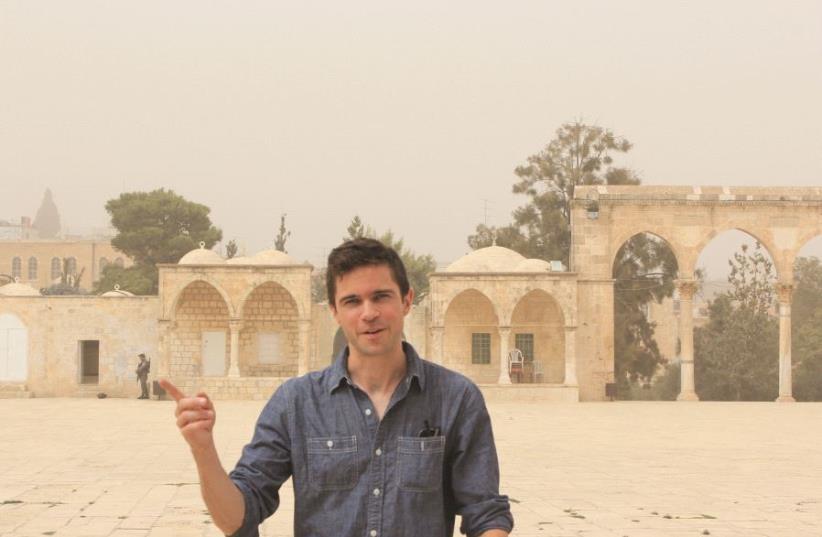 Le journaliste Hunter Stuart (photo credit: HUNTER STUART)