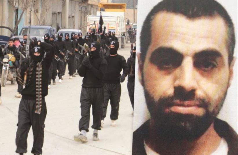 Enes Haj Yahia/ISIS in Syria  (photo credit: SHIN BET/ REUTERS)