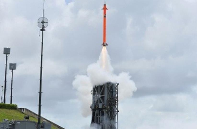 IAI successfully tests MRSAM Air and Missile Defense System (photo credit: COURTESY IAI)